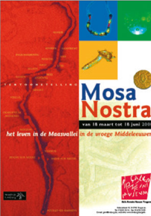 campagnebeeld tentoonstelling 'Mosa Nostra' – 18.03.2000 t.e.m. 18.06.2000